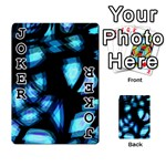 Blue light Playing Cards 54 Designs  Front - Joker1