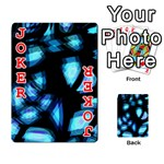 Blue light Playing Cards 54 Designs  Front - Joker2