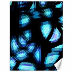Blue Light Canvas 36  X 48   by Valentinaart