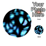 Blue light Playing Cards 54 (Round)  Back