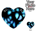 Blue light Playing Cards 54 (Heart)