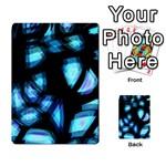 Blue light Multi-purpose Cards (Rectangle)  Back 12