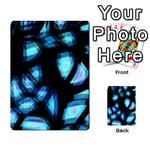 Blue light Multi-purpose Cards (Rectangle)  Front 49