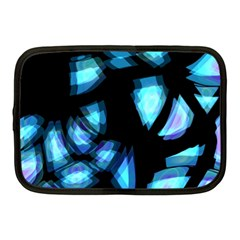 Blue Light Netbook Case (medium)  by Valentinaart