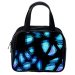 Blue light Classic Handbags (One Side) Front