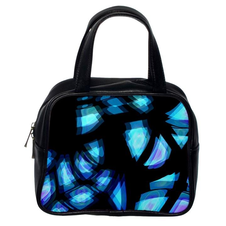 Blue light Classic Handbags (One Side)