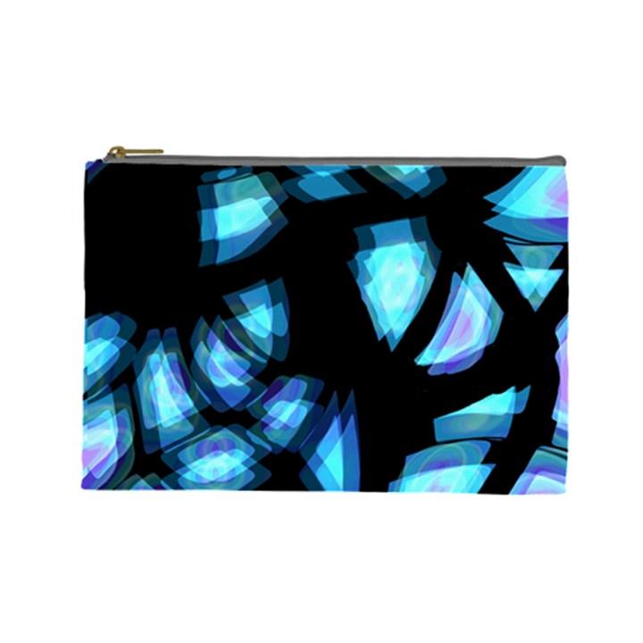 Blue light Cosmetic Bag (Large)