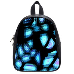 Blue Light School Bags (small)  by Valentinaart