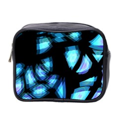 Blue light Mini Toiletries Bag 2-Side