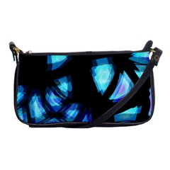 Blue light Shoulder Clutch Bags