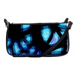 Blue light Shoulder Clutch Bags Front