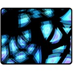 Blue light Fleece Blanket (Medium)  60 x50 Blanket Front