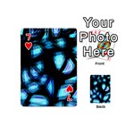 Blue light Playing Cards 54 (Mini)  Front - Heart7