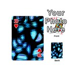 Blue light Playing Cards 54 (Mini)  Front - Heart10