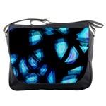 Blue light Messenger Bags