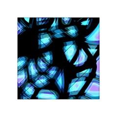 Blue Light Acrylic Tangram Puzzle (4  X 4 )