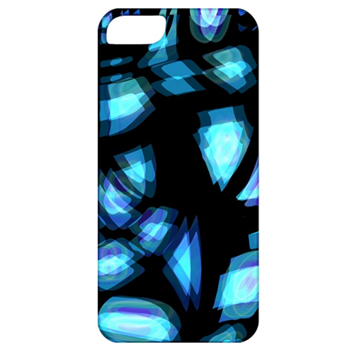 Blue light Apple iPhone 5 Classic Hardshell Case
