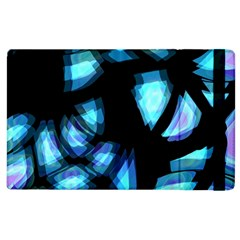 Blue Light Apple Ipad 3/4 Flip Case by Valentinaart