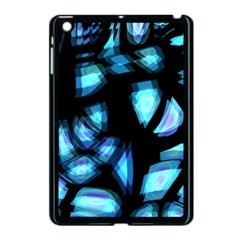 Blue Light Apple Ipad Mini Case (black)
