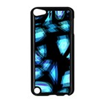 Blue light Apple iPod Touch 5 Case (Black)