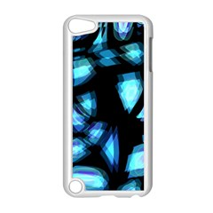 Blue Light Apple Ipod Touch 5 Case (white)