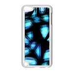 Blue light Apple iPod Touch 5 Case (White) Front