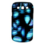 Blue light Samsung Galaxy S III Classic Hardshell Case (PC+Silicone)