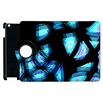 Blue light Apple iPad 3/4 Flip 360 Case Front