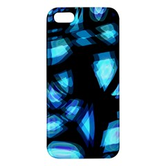 Blue light Apple iPhone 5 Premium Hardshell Case