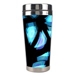 Blue light Stainless Steel Travel Tumblers Right