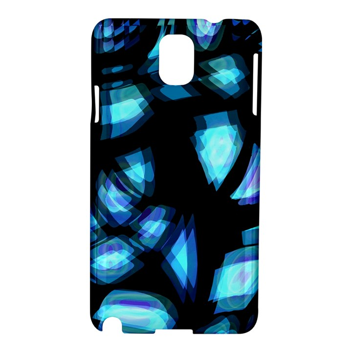 Blue light Samsung Galaxy Note 3 N9005 Hardshell Case