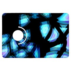 Blue light Kindle Fire HDX Flip 360 Case by Valentinaart