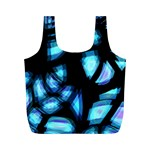 Blue light Full Print Recycle Bags (M)