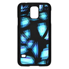 Blue light Samsung Galaxy S5 Case (Black)