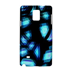 Blue light Samsung Galaxy Note 4 Hardshell Case