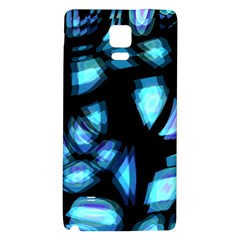 Blue light Galaxy Note 4 Back Case