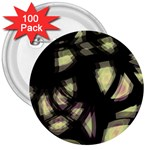 Follow the light 3  Buttons (100 pack)  Front