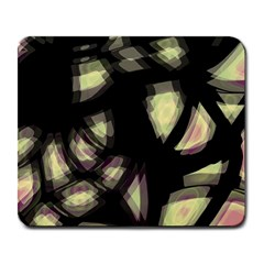 Follow The Light Large Mousepads by Valentinaart