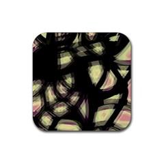 Follow The Light Rubber Coaster (square)