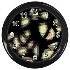 Follow The Light Wall Clocks (black) by Valentinaart