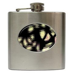 Follow The Light Hip Flask (6 Oz) by Valentinaart