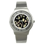 Follow the light Stainless Steel Watch Front