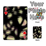 Follow the light Playing Cards 54 Designs  Front - Heart9