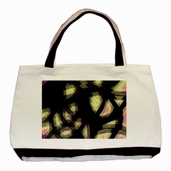 Follow the light Basic Tote Bag (Two Sides)