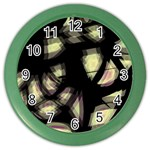 Follow the light Color Wall Clocks Front