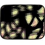 Follow the light Double Sided Fleece Blanket (Mini)  35 x27 Blanket Front