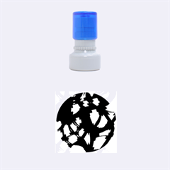 Follow The Light Rubber Round Stamps (small) by Valentinaart