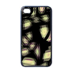 Follow The Light Apple Iphone 4 Case (black) by Valentinaart