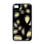 Follow the light Apple iPhone 4 Case (Black) Front