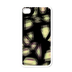 Follow The Light Apple Iphone 4 Case (white) by Valentinaart